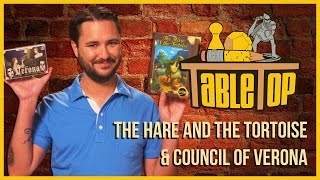 Hare&Tortoise/Council of Verona: Alison Haislip, Jessica Merizan + David Kwong on TableTop S03E04