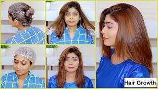 GET SHINY, SILKY, SOFT, SMOOTH, THICK HAIR NATURALLY- Home Made Hair Mask For Hair Growth
