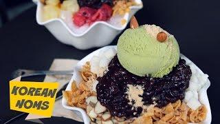 Korean Noms - Bingsu Ice Cream