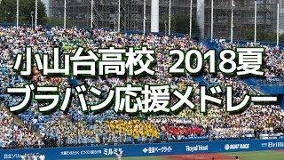 小山台高校 ブラバン応援メドレー 2018夏 第100回 高校野球