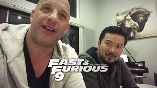 """Vin Diesel & Justin Lin Talk """"Fast & Furious 9"""""""