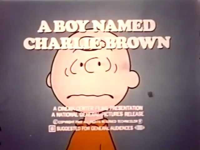 A Boy Named Charlie Brown TV trailer 1969