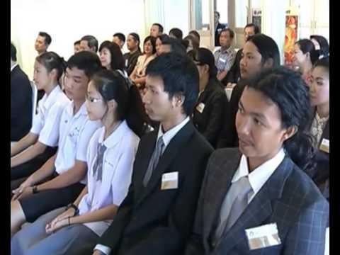 นักเรียน สาธิต มมส  เข้ารับพระราชทานรางวัลการประกวดวาดภาพ (3 ก.ค. 56) ช่อง 7