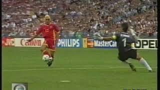 Mondiali 1998 Romania-Tunisia 1-1 highlights - World Cup 1998