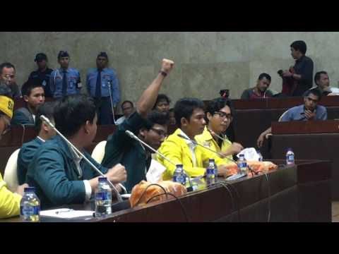 Audiensi Anggota DPR dengan mahasiswa UI dan ITB terkait Hak Angket 07/07/17