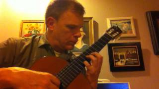 Giga by Robert de Visée (Gigue and Double del la Gigue for Guitar/Lute) - Emmett McLean