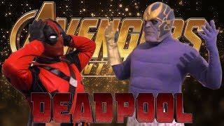 Avengers: Infinity War Deadpool Vs Thanos (Parody)