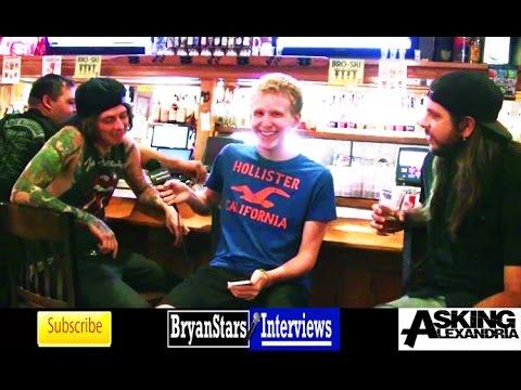 Asking Alexandria Interview #6 Ben Bruce & Kyle Borman 2015