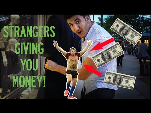 Giving people MONEY!! | Yes Theory