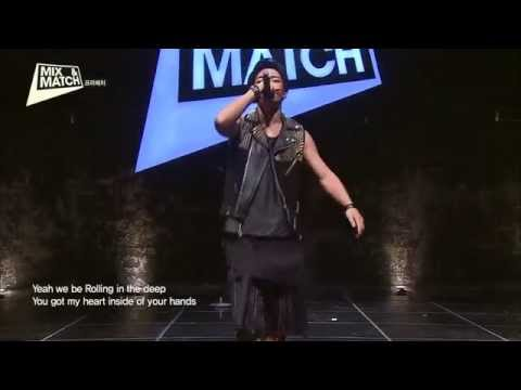MIX & MATCH iKON Bobby €Team - Rolling In The Deep (Adele) HD