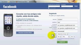 como crear un hotmail y una facebook