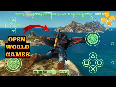 Download Best Open World Games On PPSSPP For Android  | High Graphics psp Games