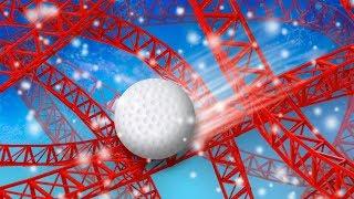 АМЕРИКАНСКИЕ ГОРКИ ЗИМОЙ?   Golf It! #4