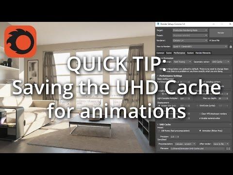 QUICK TIP: Saving The UHD Cache