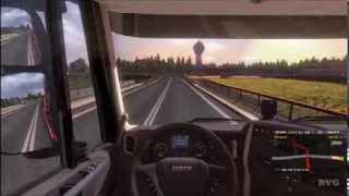 Euro Truck Simulator 2 - Going East! - Debrecen to Katowice Gameplay [HD]