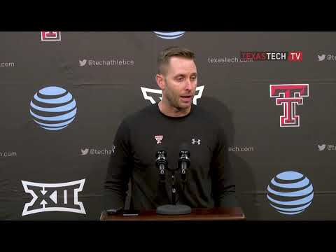 Texas Tech Football vs. Texas: Kingsbury Postgame | 2018