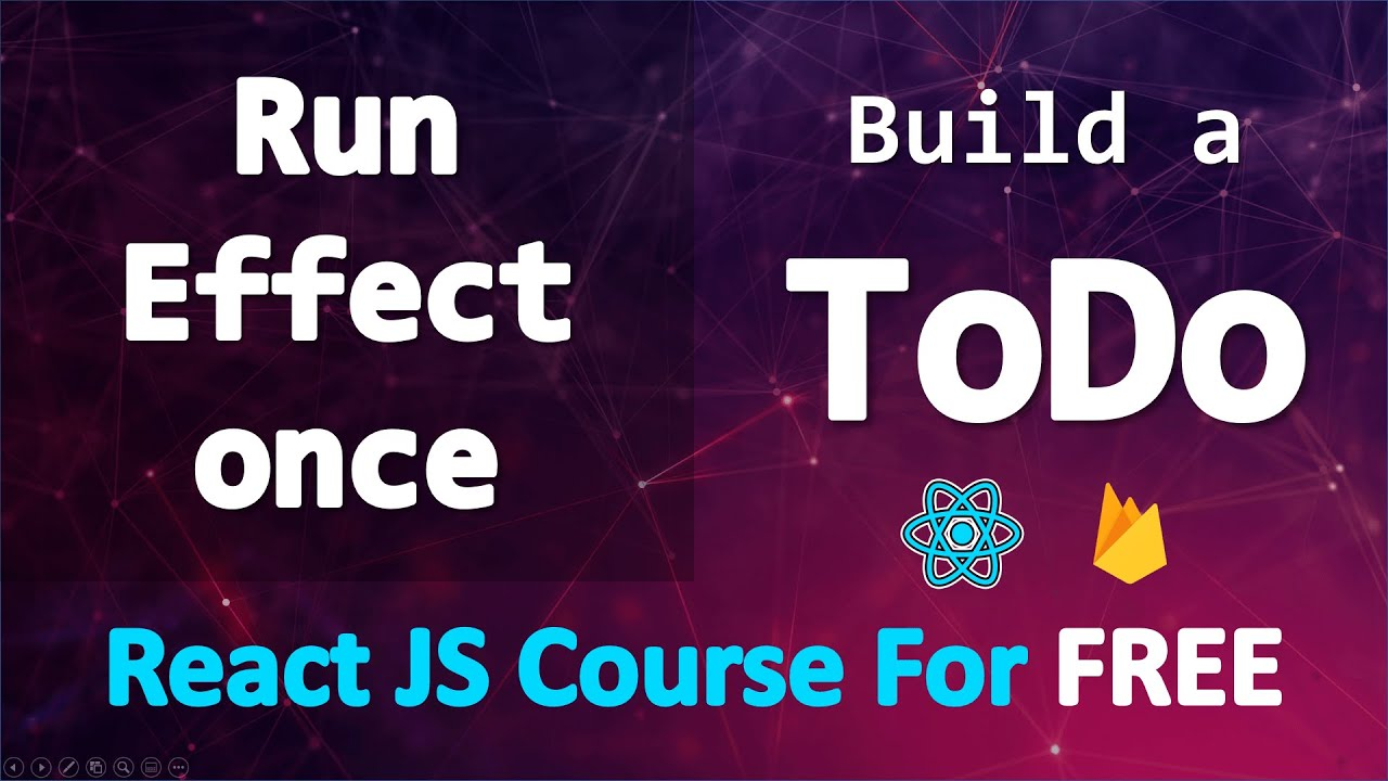 Build A TODO App with React and Firebase • Run Effect once & Firestore Quota Exceeded • PART 16
