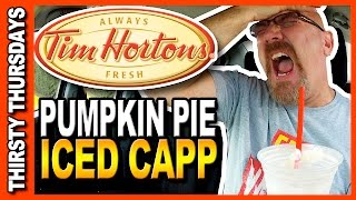 Tim Horton's Pumpkin Pie Ice Capp • Thirsty Thursdays