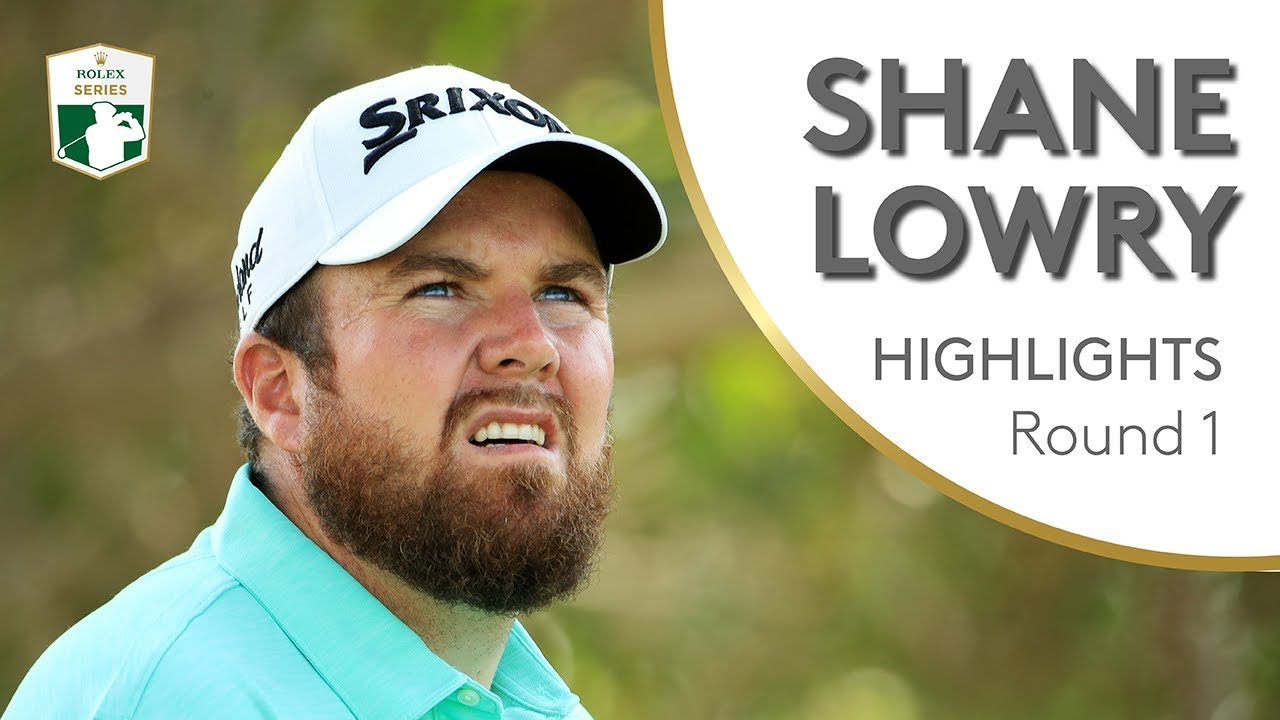 Shane Lowry Takes a 4-Stroke Lead at the British Open