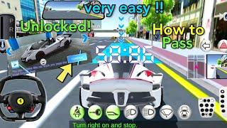 3D Driving Class - Road Driving Test - Full Tutorial   HMDG131 screenshot 3