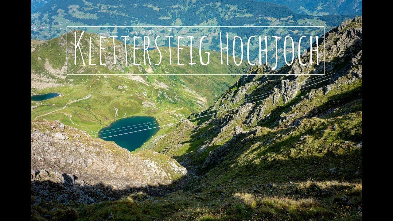 Klettersteig Hochjoch : Vorarlbergs längster klettersteig eröffnet seine seile