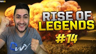 "THE PERFECT POWER FREE KICK / FIFA 15 ULTIMATE TEAM / RISE OF LEGENDS #14 ""New Legend"""
