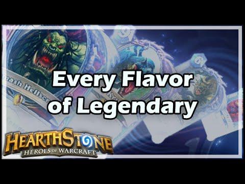 [Hearthstone] Every Flavor of Legendary
