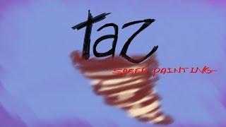 Taz the Tasmanian devil -speed drawing