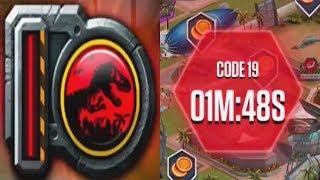 CODE 19 Vs CODE RED - Jurassic Park Builder Vs Jurassic World The Game