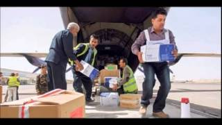 First humanitarian aid planes land in strife-torn Yemen