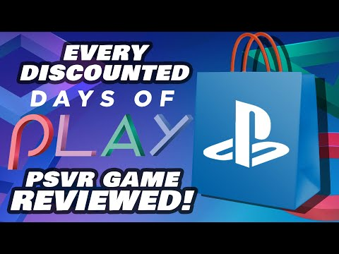 Every PSVR Game on Sale Reviewed (NA) | Days of Play Ends June 8th!