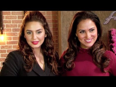 Huma Qureshi and Lara Dutta At The Special Episode Shoot Of Miss Diva 2017