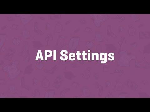 API Settings - WooCommerce Guided Tour