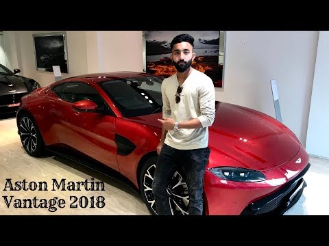 Aston Martin Vantage 2018.Better Than a Lamborghini?? Review on the streets of Goa India !!!