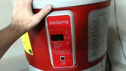 G.E  GEOSPRING  HOT WATER HEATER REVIEW