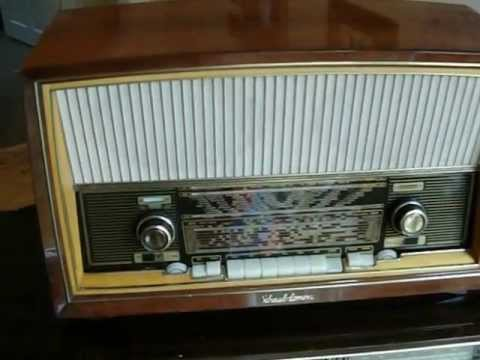 schaub lorenz german valve radio youtube. Black Bedroom Furniture Sets. Home Design Ideas