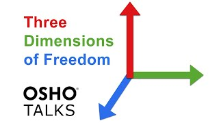 OSHO: The Three Dimensions of Freedom ...