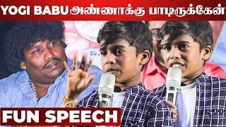 Semma Fun: Poovaiyar  on Stage – 50-50 Audio Launch