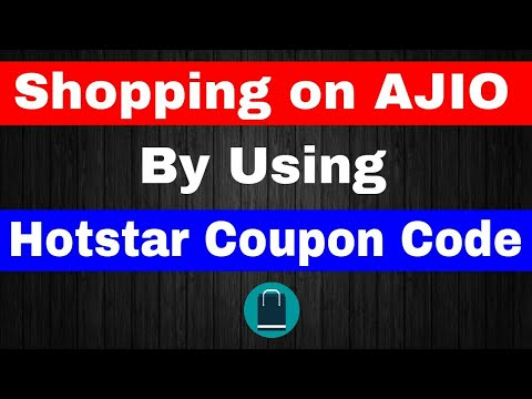 Shopping On AJIO By Using Hotstar Coupon Code || Hotstar Watch n Play Offer