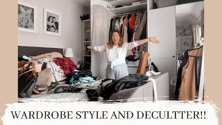 WARDROBE STYLE AND DECLUTTER / shop my wardrobe