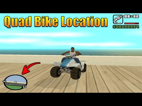 How To Get Quad Bike In GTA San Andreas - Quad Bike Location