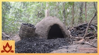 Primitive Technology: Reusable charcoal mound thumbnail