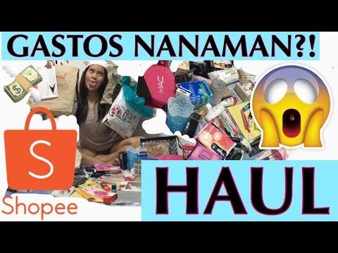 BIG HAUL!!!!!! (Shopee, School Supplies, Makeup, Etc...) GASTOS PA MORE!