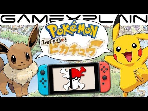 Pokémon Let's Go Pikachu & Eevee is a Good Idea?! Derrick & Roger's Take - Rumor DISCUSSION