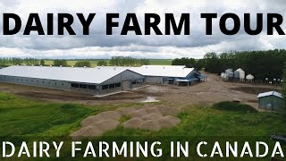 Touring Our Dairy Farm!