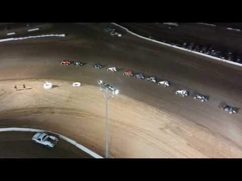USAC Sprint Car Round 2 Main Canyon Speedway Park AZ