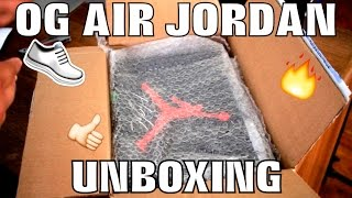 NEW OG AIR JORDAN UNBOXING AND STORY TIME!!!