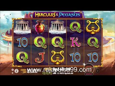 """Game Slot Pragmatic Bagi Duit """" Hercules & Pegasus """" Pulsa Online Terpercaya"""