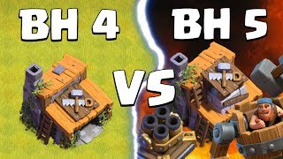 """BUILDER HALL 4 """"3 STARS"""" BH 5 