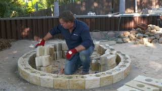 How to build a courtyard Firepit